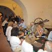 Felvidéki résztvevők a Diósgyőri vár borozójában